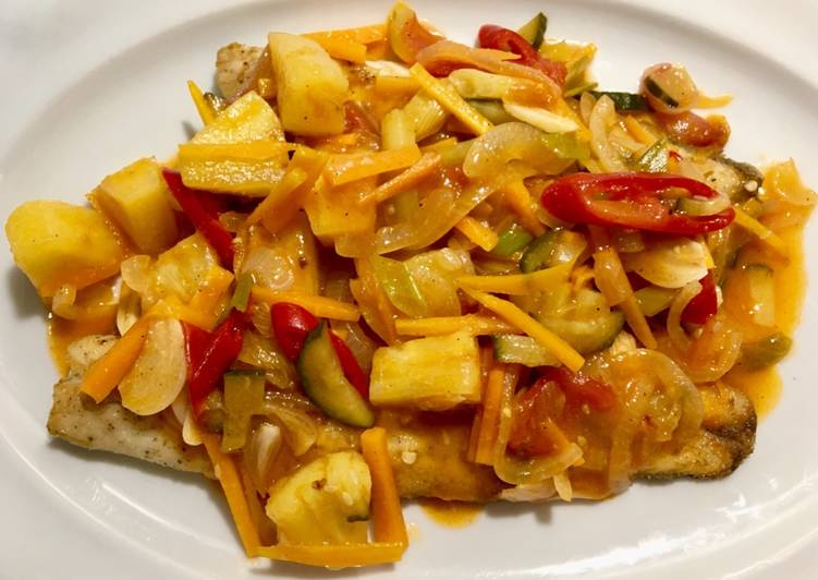 How to Make Tasty Sweet & Sour Fish