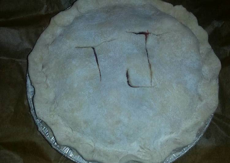 Recipe of Homemade Strawberry Rhubarb Pie