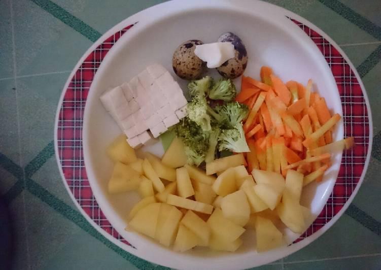 Ini Lah Cara Memasak Mpasi 6m Kentang Brokoli