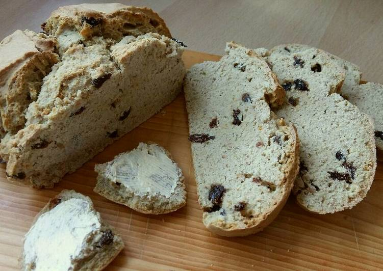 Easiest Way to Prepare Top-Rated Vickys Mixed Fruit Irish Soda Bread GF DF EF SF NF