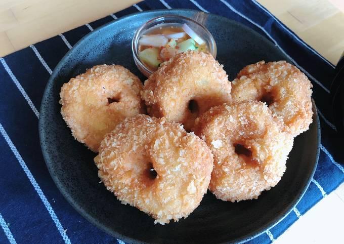 🧑🏽🍳🧑🏼🍳 Fried shrimp Cake • HomeMade Thai Shrimp Cake • Tod Mun Goong  ThaiChef Food