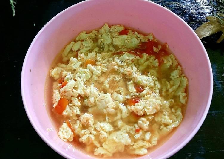 Tan Hua Tang (Sup Tomat Telur)