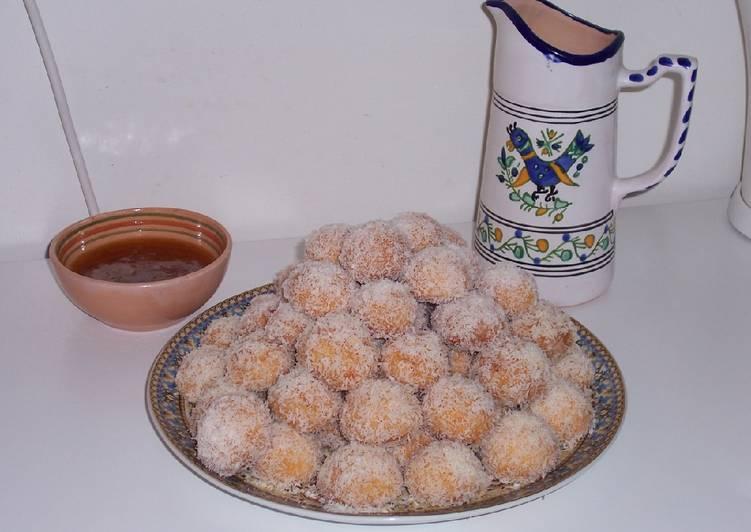 Gâteau richbond où boule de noix de coco