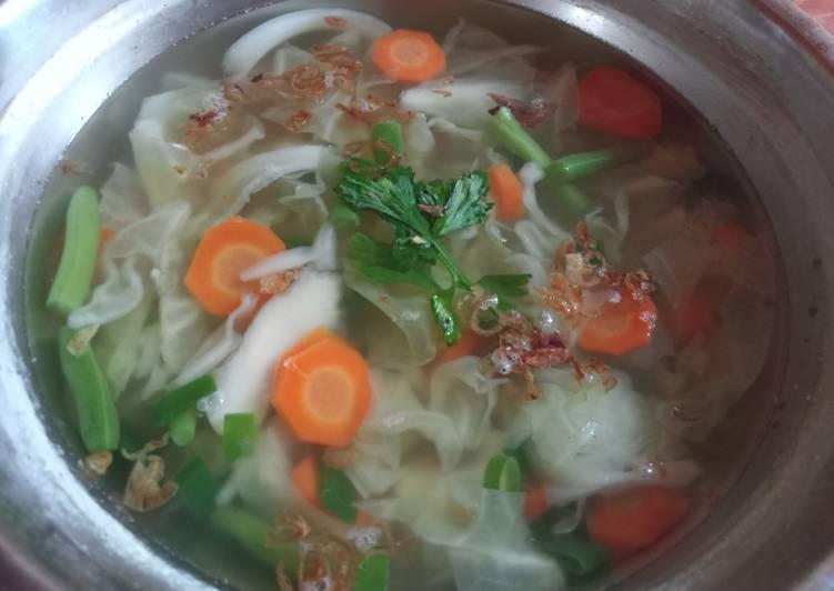 Sup Sayur Segar Simple