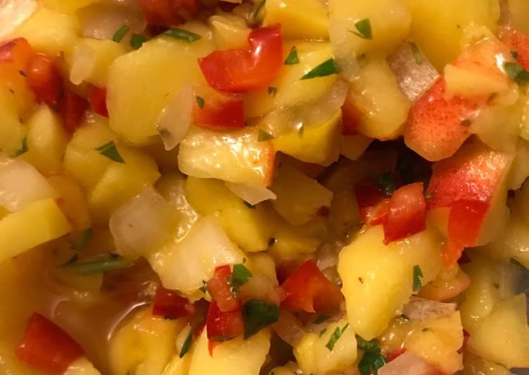 Mango-Peach Salsa