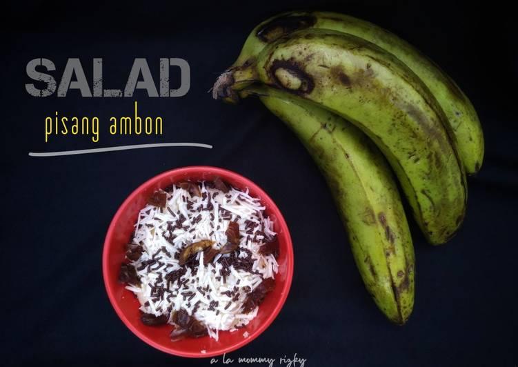 Salad Pisang Ambon