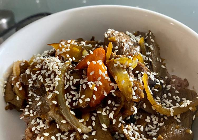 Easy Beef Teriyaki Recipe | Resep Simple Daging Teriyaki