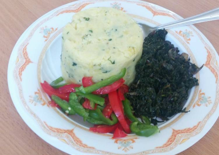 Easiest Way to Prepare Favorite Mashed potato greens