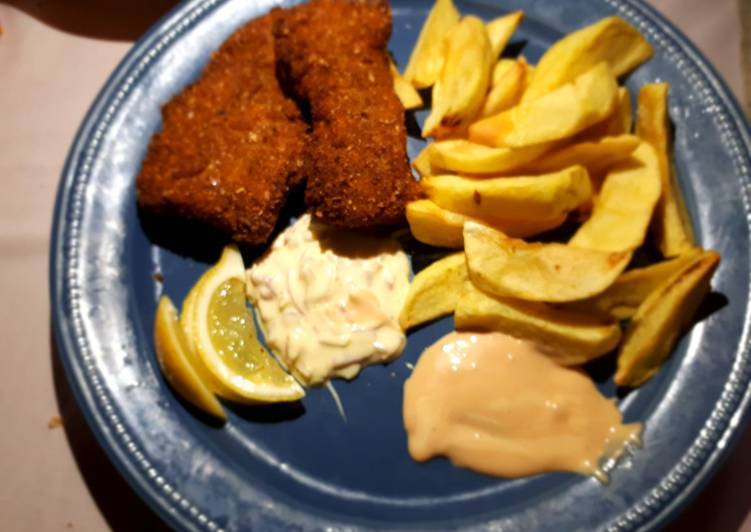 Easiest Way to Prepare Perfect Classic fish and chips