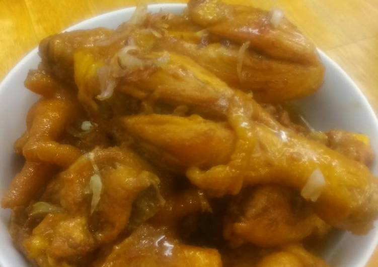 Step-by-Step Guide to Prepare Ultimate Butter chicken with sweet soy sauce