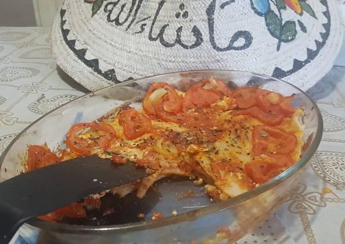 Tomatoes and herbs lasanya bake
