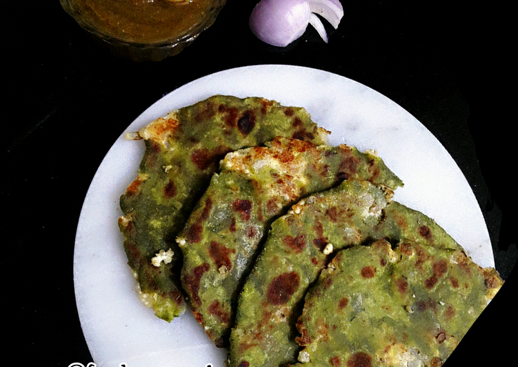 Step-by-Step Guide to Make Perfect Palak Paneer Paratha