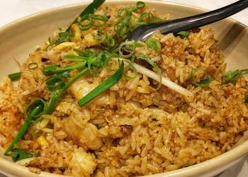 How to Make Perfect BBQ Pork and Prawn Fried Rice
