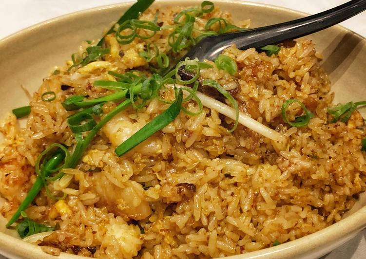 BBQ Pork and Prawn Fried Rice