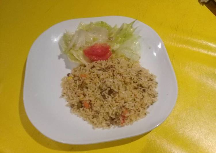 Easiest Way to Make Award-winning Mince meat rice