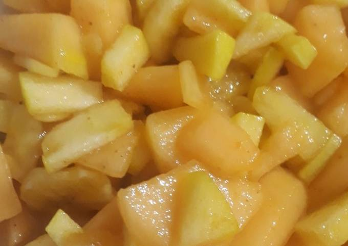 Mango with milon #cookpadFruits