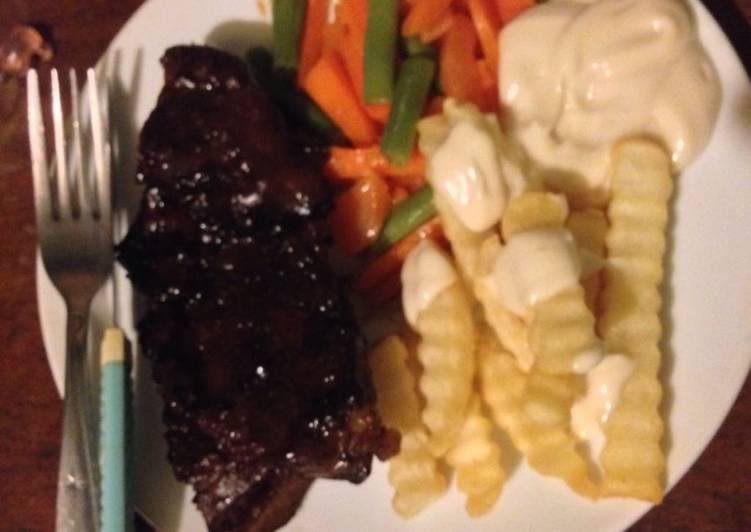 11 Resep: Steak BBQ Sapi Kekinian