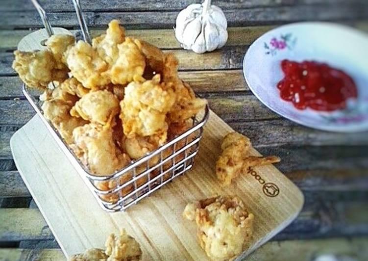 Resep Tempura Chicken Fingers Masak Apa Hari Ini