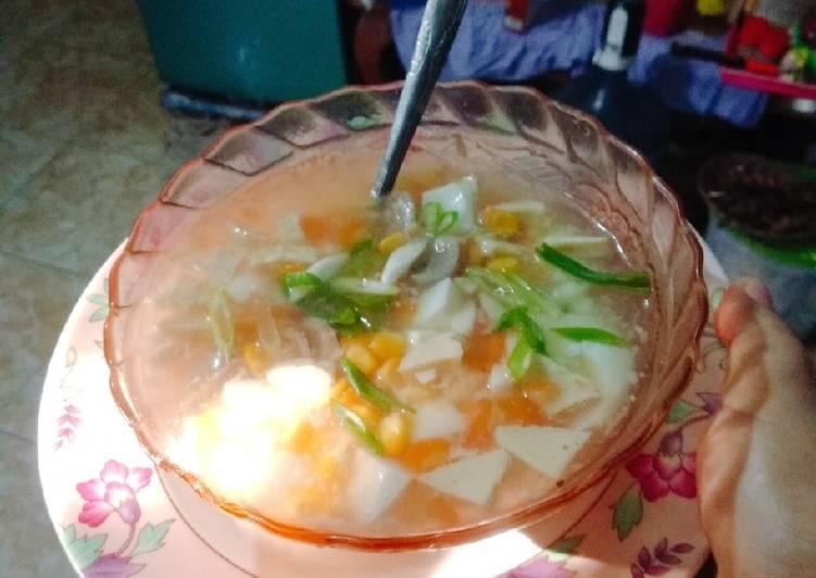 Sup jagung bening