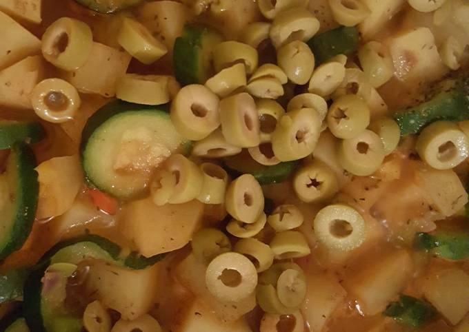 Poêlé de Courgette pommes de terre