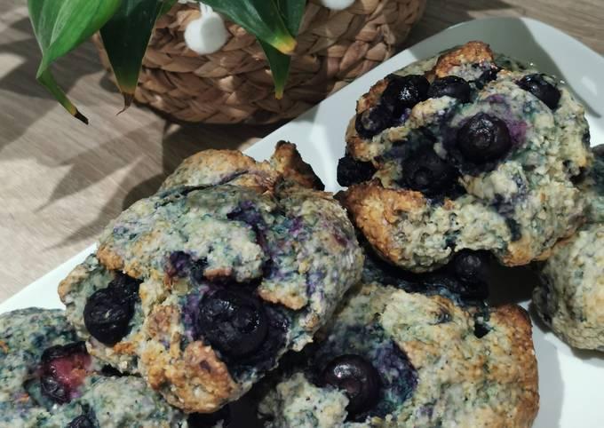 Scones aux Blueberries