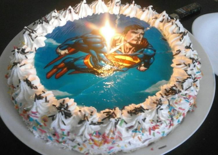 تورتة عيد ميلاد ابني بالصور من أم أحمد الباتنية كوكباد