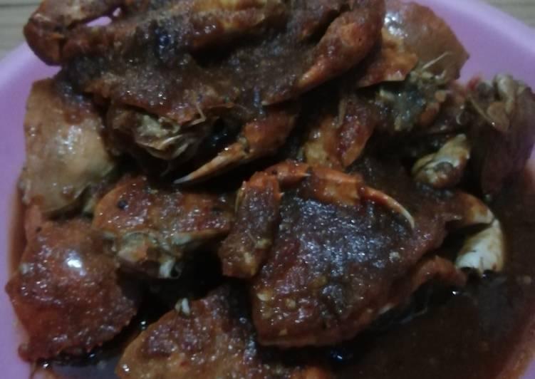 Kepiting pedas asam manis