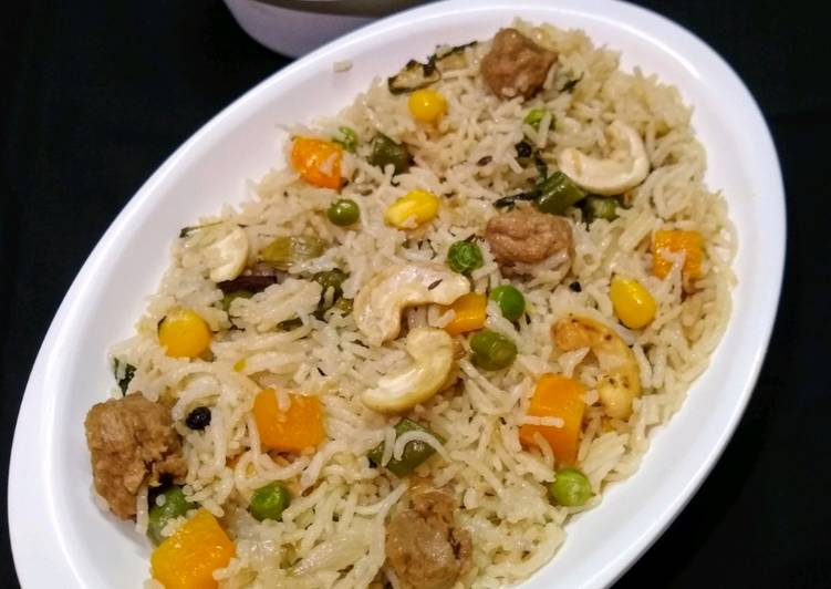 Turn to Food to Improve Your Mood Vegetable Pulao