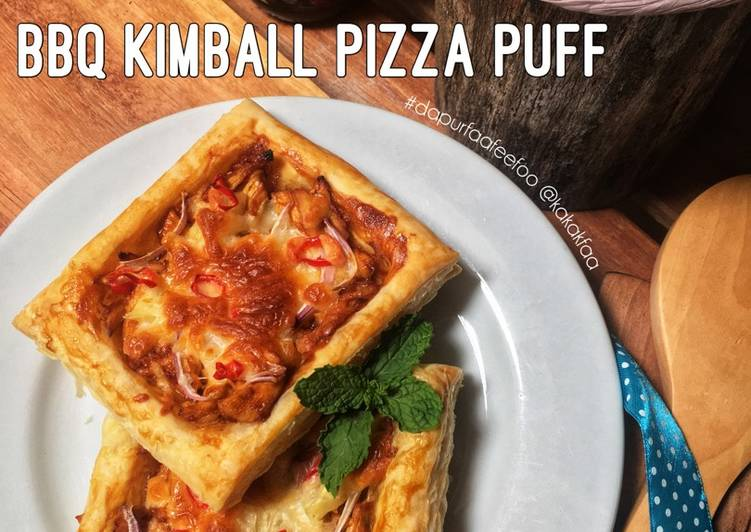 Resepi: BBQ Kimball Pizza Puff  2021