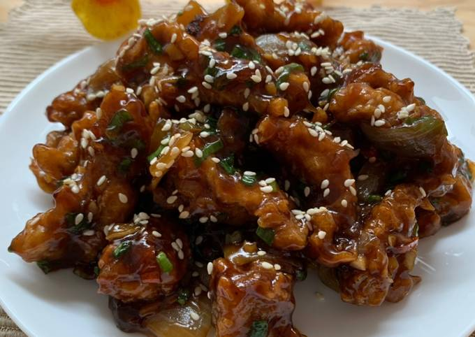 Ayam Kecap Pedas