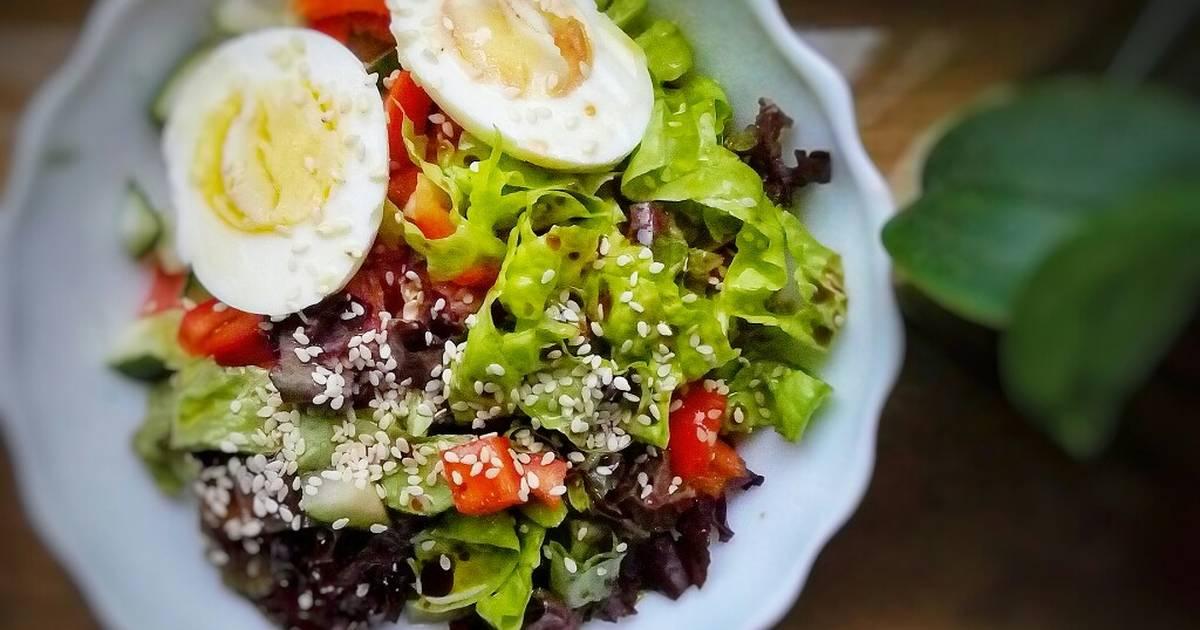 салат на завтрак рецепт с фото что еды стоит