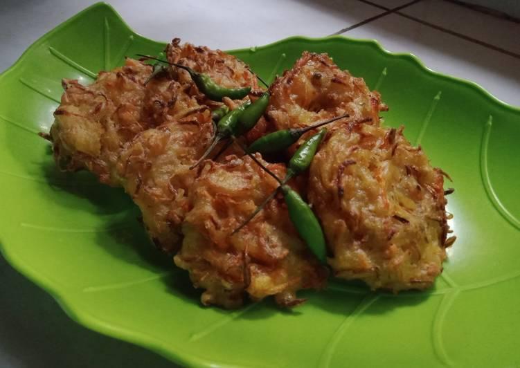 Resep Bakwan sayur toge Yang Populer Pasti Ngiler