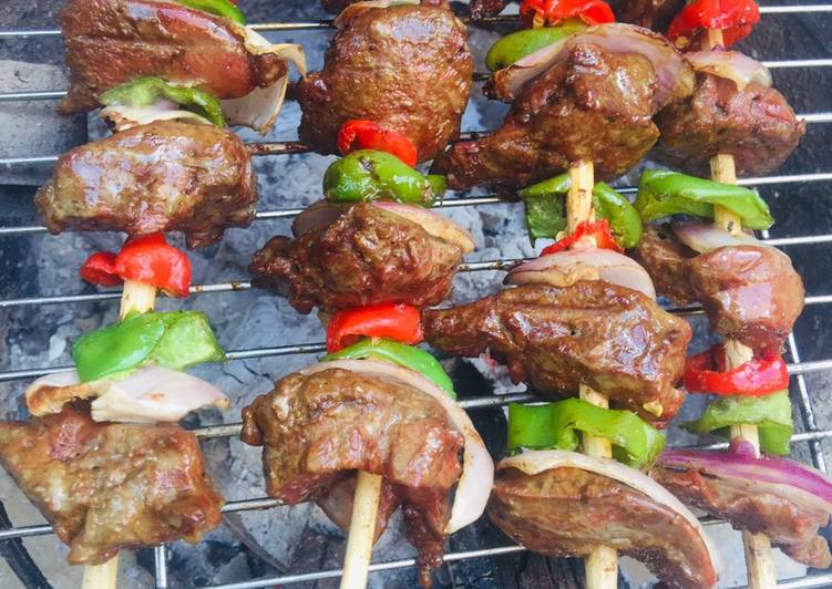 How to Make Perfect Liver kebab