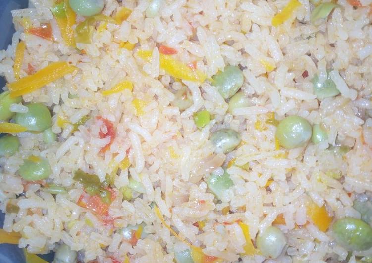 Recipe: Delicious Pigeon peas rice