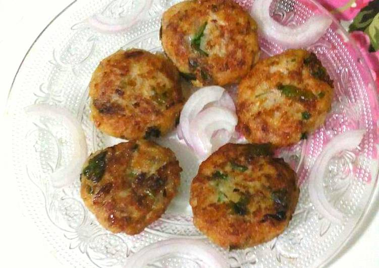 Simple Way to Prepare Homemade Raw Banana Tikki