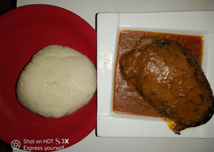 The Best Soft and Chewy Dinner Easy Refreshing Cocoyam soup #abjmom #MyHubFav
