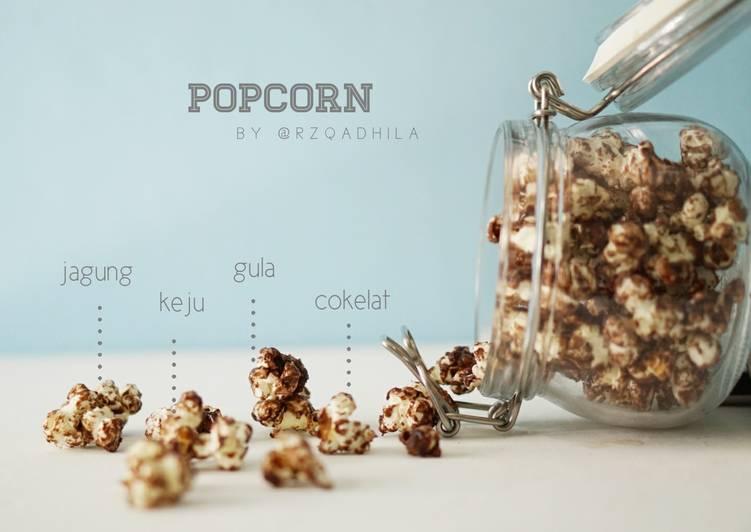 Popcorn Cokelat Keju