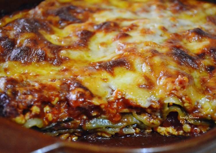 Chicken and Silverbeet Lasagne