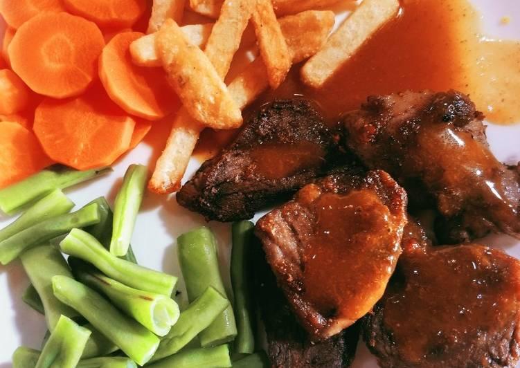 Steak Sapi Rumahan