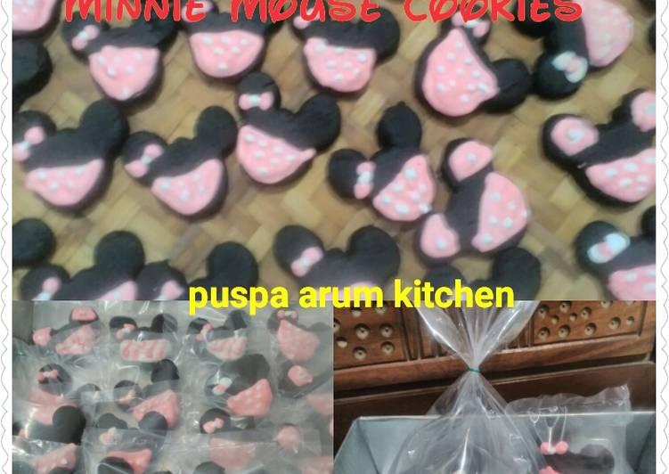 Minnie Mouse Cookies ala PAC - cookandrecipe.com