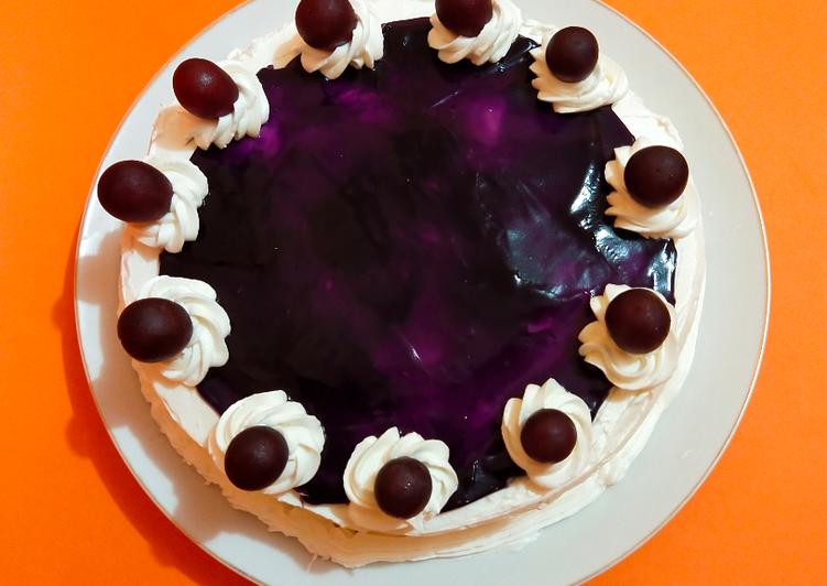 Simple Tart Magiccom (Blueberry Cheese cake)