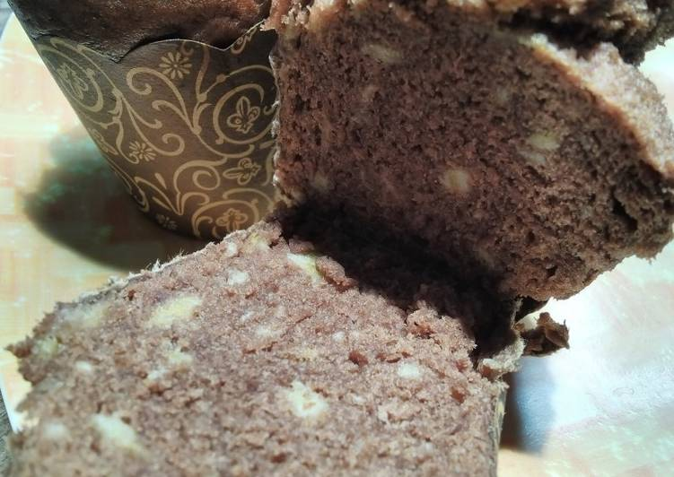 Bolu Pisang Coklat - cookandrecipe.com