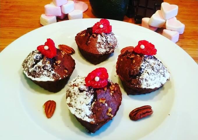 Brownies chocolat avocat