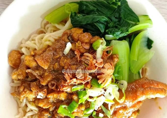 Resep Mie Ayam Wonogiri yang nikmat Untuk Jualan