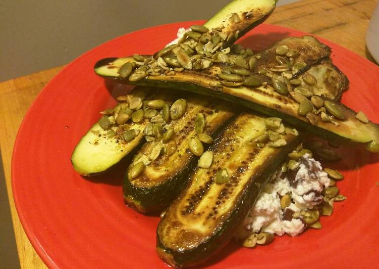Learn How to Elevate Your Mood with Food Blackened Zucchini