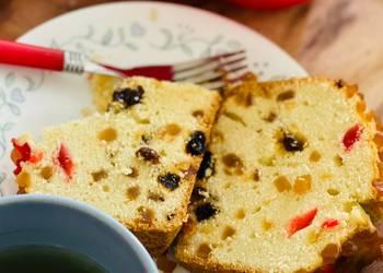 Easiest Way to Make Yummy Tutti Frutti Almond flour Cake