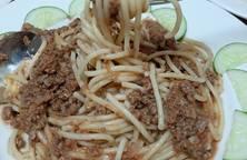 Spaghetti xốt bò bằm