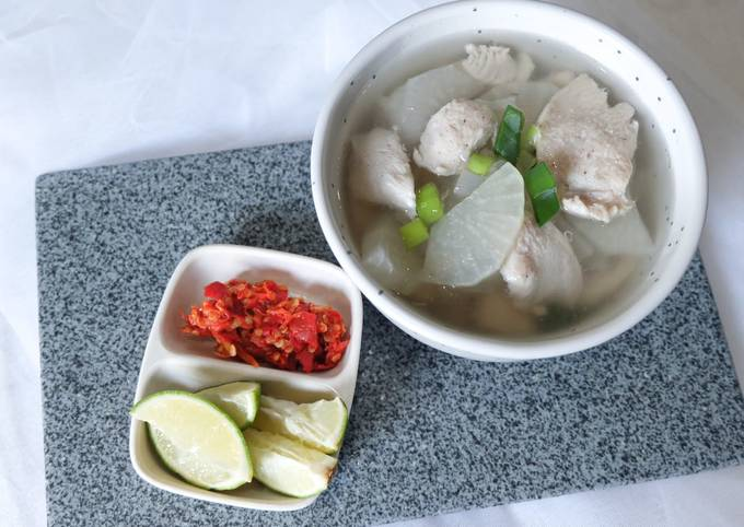 Soto Bandung Ayam (edisi menu diet)