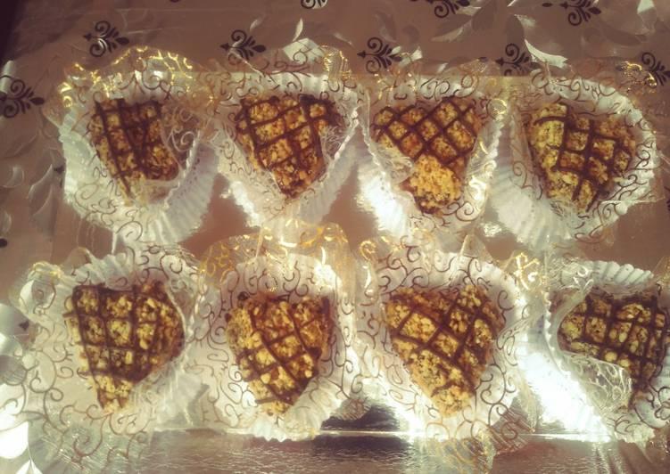 Sablets au cacahuettes