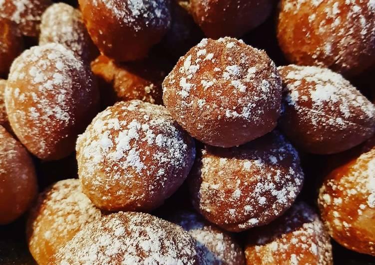 Minis beignets de Carnaval